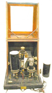 Photo of a capacity magnifier in the Bamfield collection