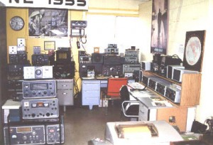 Photo of the Amateur (Ham) Radio collection at the SPARC Radio Museum