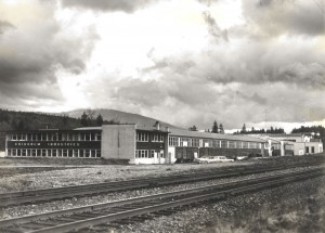 Photo of the Chisholm Industries manufacturing plant in Port Moody, BC