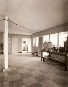 Photo of the Chisholm metalwork shop in the Port Moody plant.
