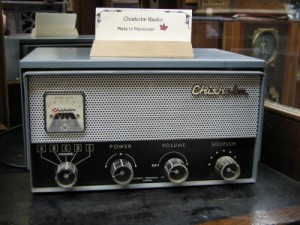Photo of a Chisholm transceiver