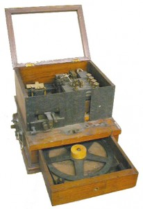 Photo of an unknow piece of equipment in the Bamfield collection
