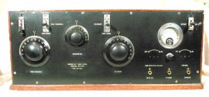 Photo of a universal receiver made by Canadian Government Radio Service