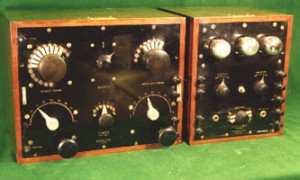 Photo of Marconi of Canada MST, MSA tuner-amplifier combination