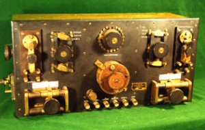 Photo of a very rare Canadian Marconi 2843 receiver at the SPARC Radio Museum